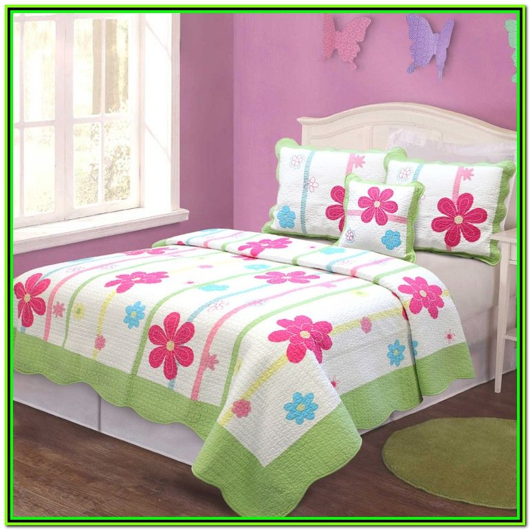 Little Girl Quilt Bedding Sets
