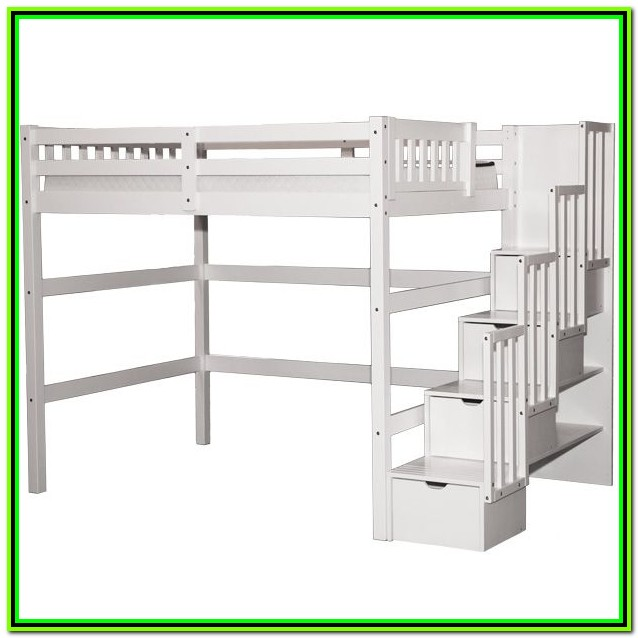 Loft Bed Full Size With Stairs