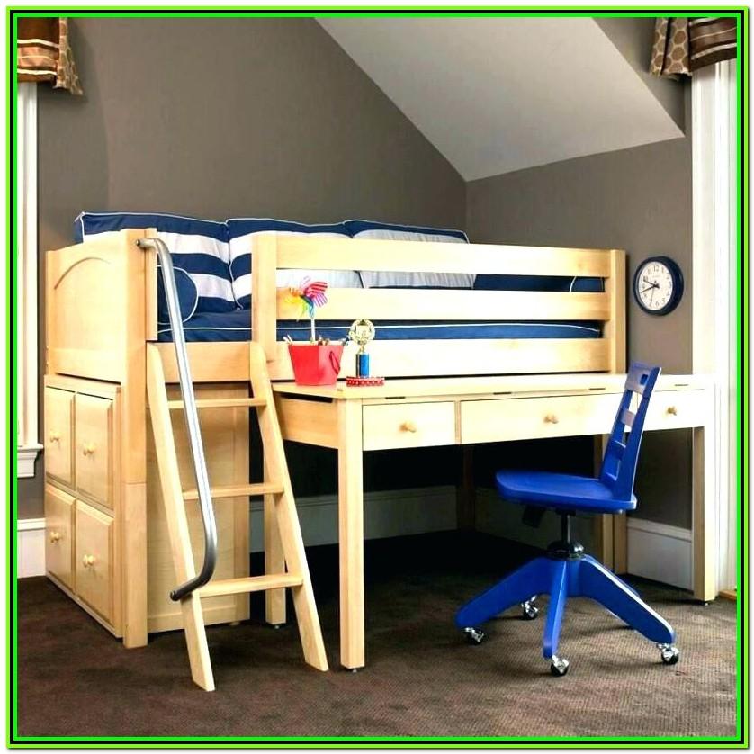 Loft Bed Full Size Wood