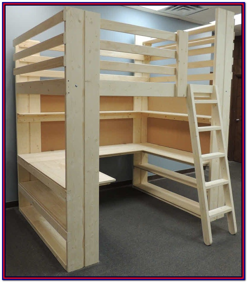 Loft Bed With Storage Plans