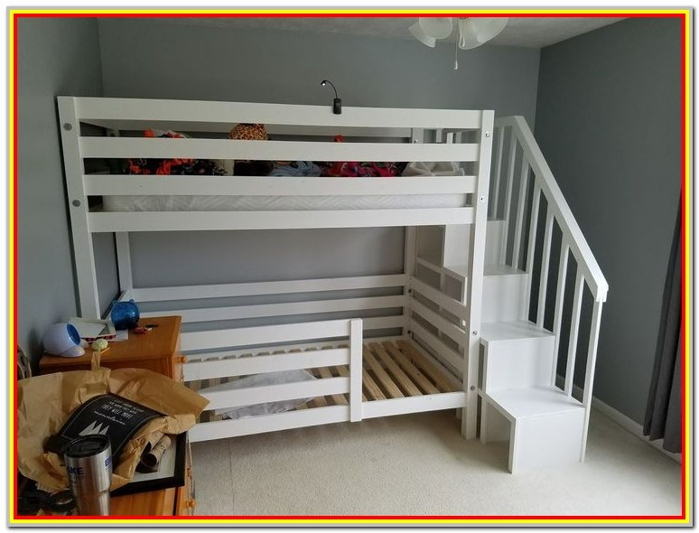 Loft Bed With Storage Underneath Plans