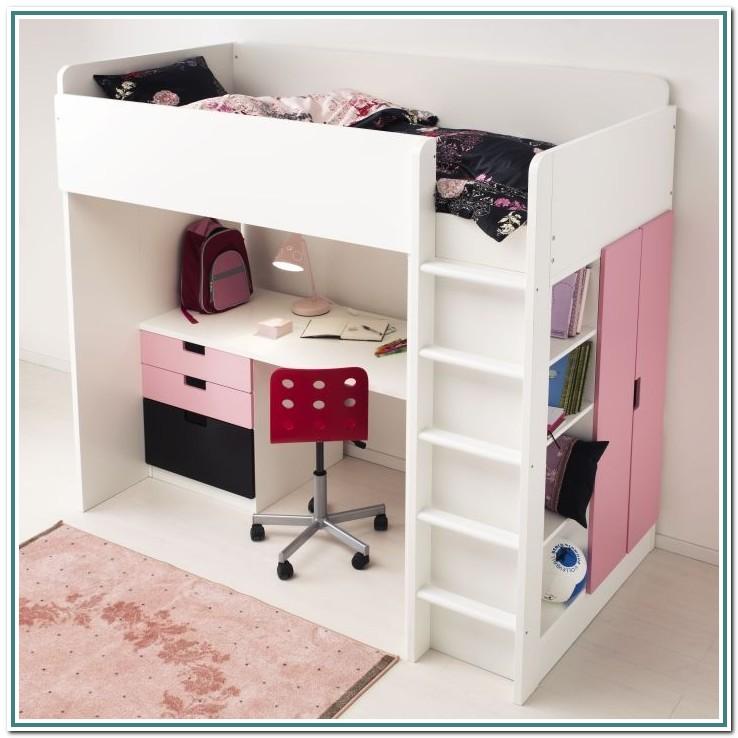 Loft Bunk Bed With Desk Ikea