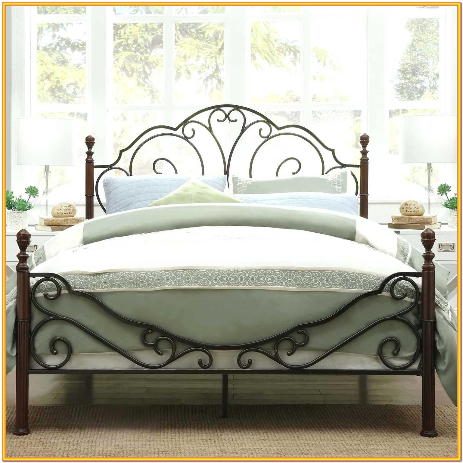 Metal Bed Frame Twin Amazon
