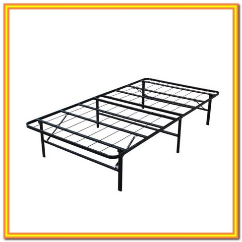 Metal Bed Frame Twin Walmart