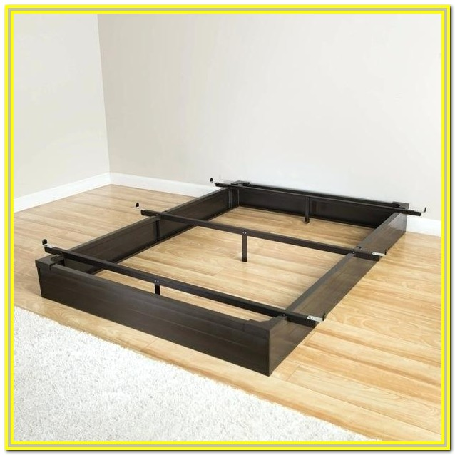 Metal King Bed Frame Assembly