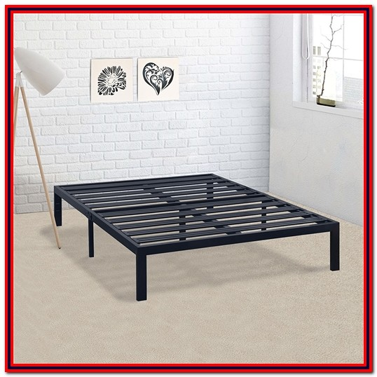Metal Platform Bed Frame California King