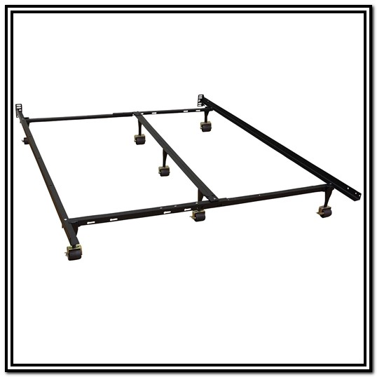 Metal Twin Bed Frame With Wheels