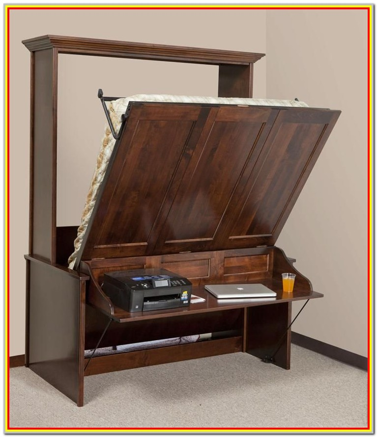 Murphy Bed With Desk Plans Free Downloads