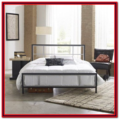 Premier Annika Metal Platform Bed Frame Twin Black