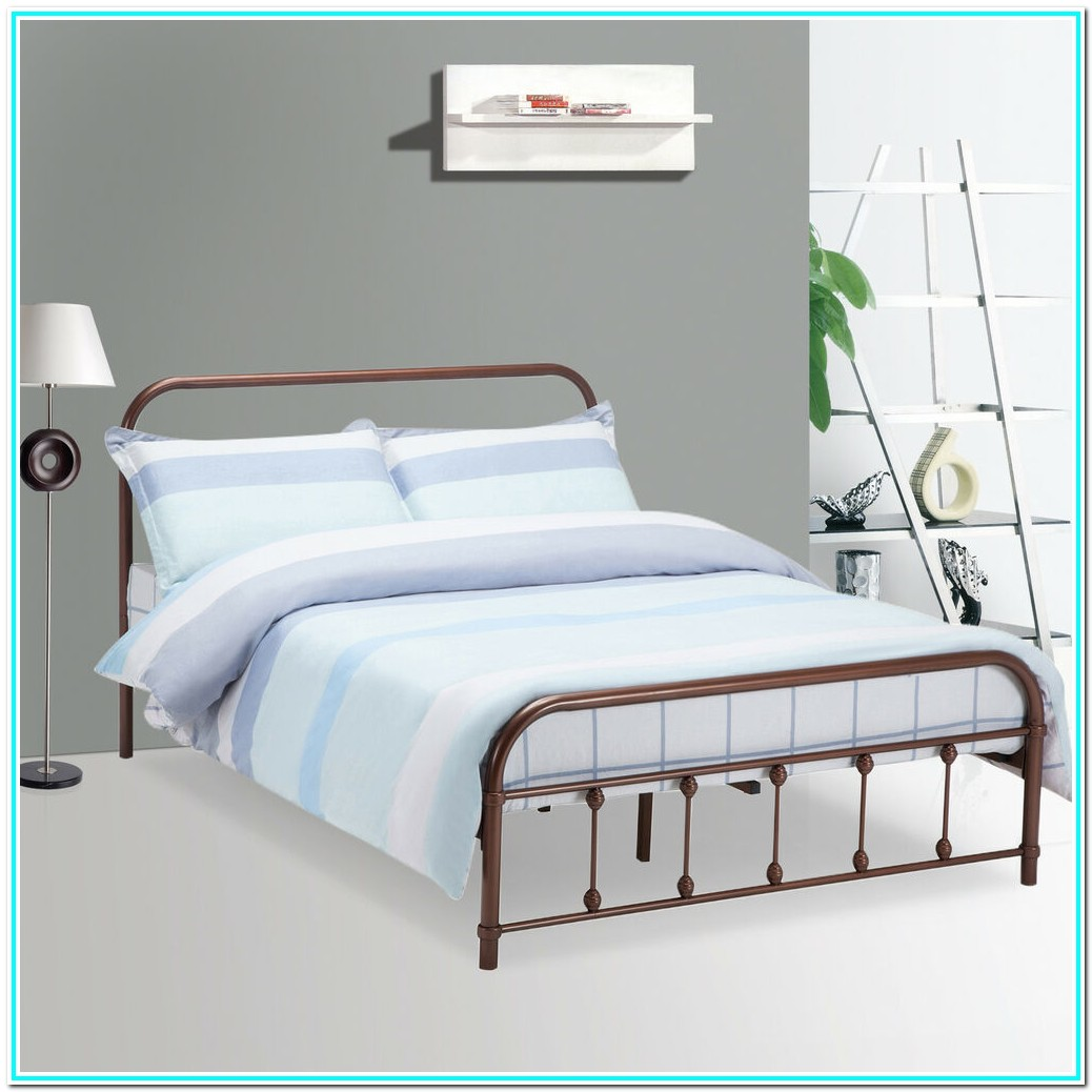 Queen Bed Frame For Head And Footboard