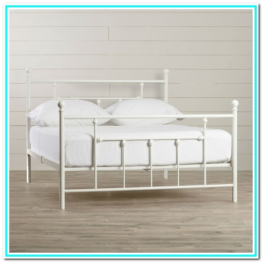 Queen Bed Frame With Headboard And Footboard White