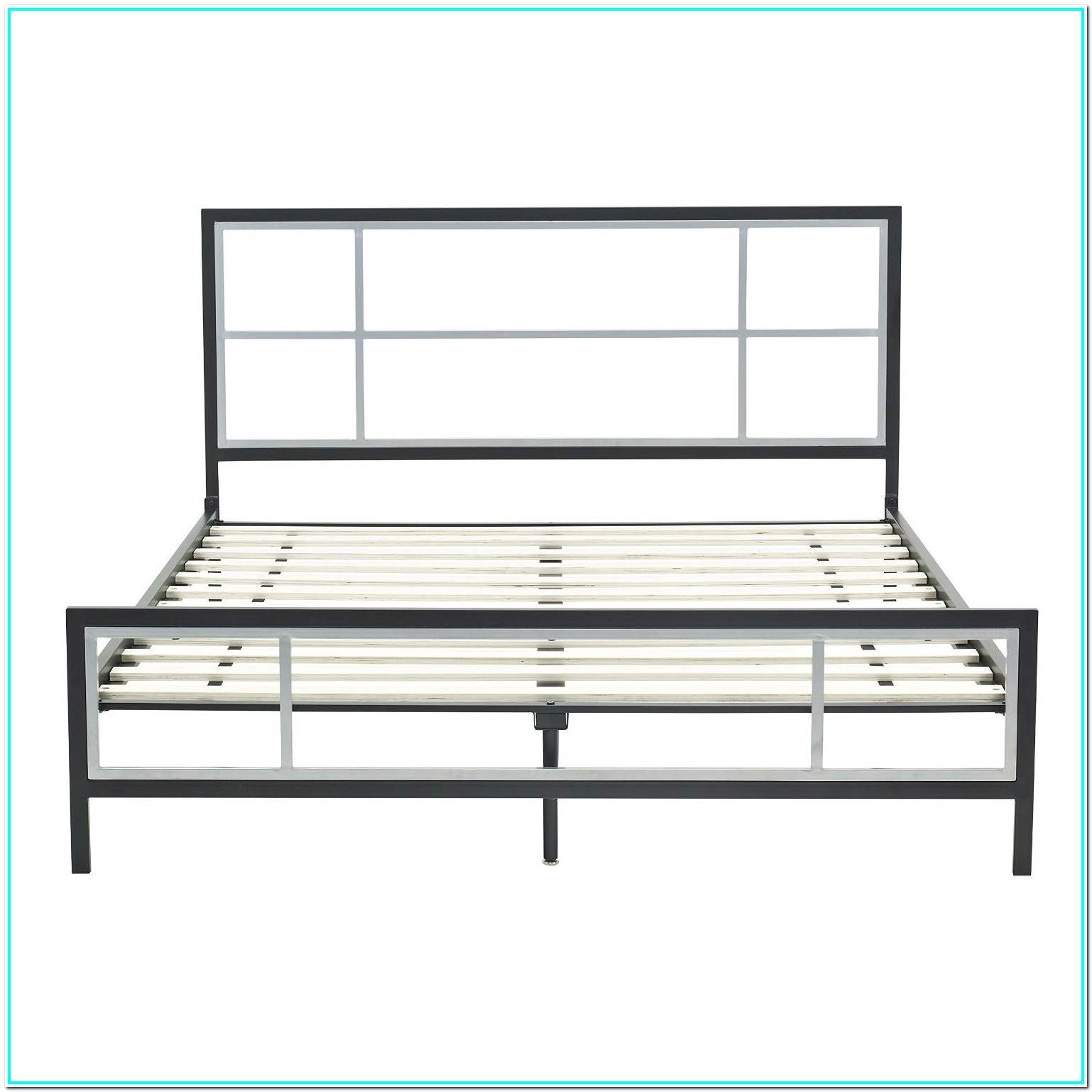 Queen Bed Frame With Headboard Black
