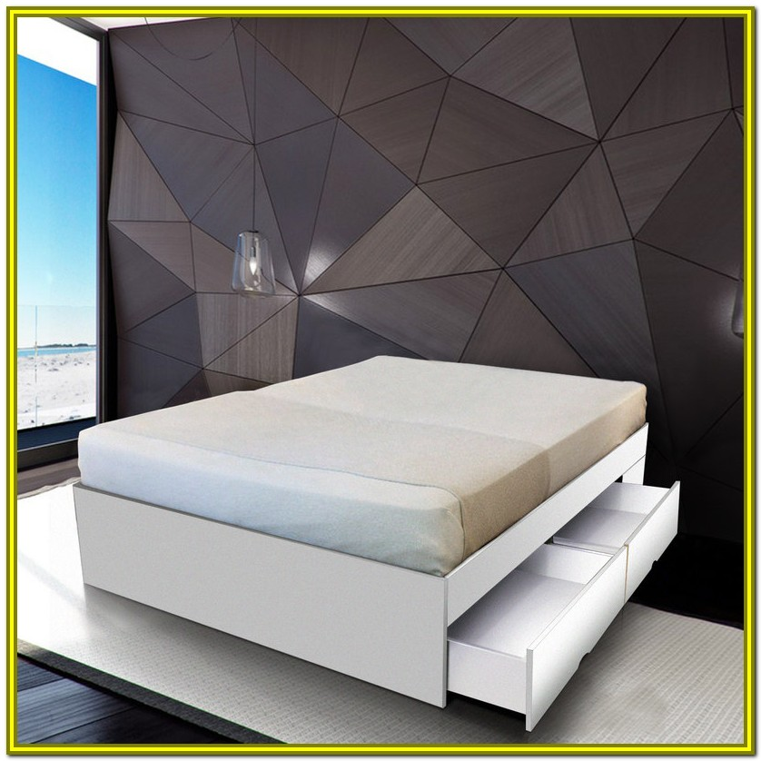 Queen Size Storage Bed Base