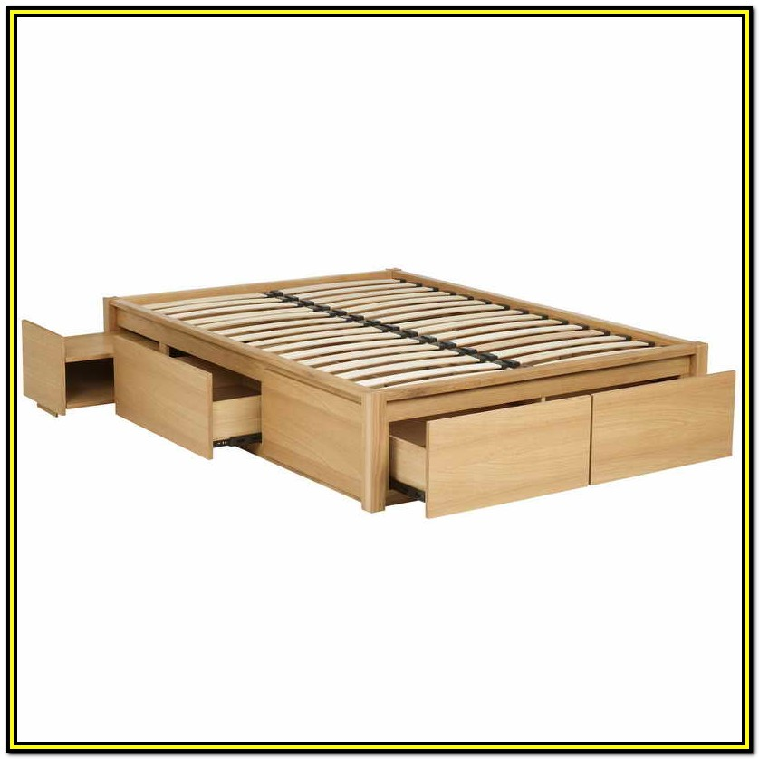 Queen Storage Bed Frame Plans