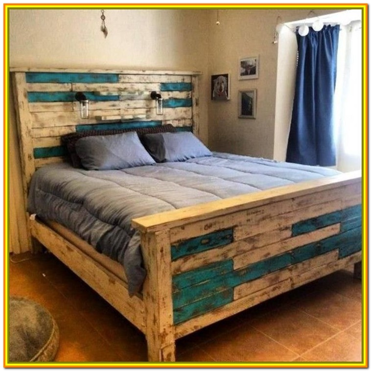 Queen Wood Bed Frame Diy