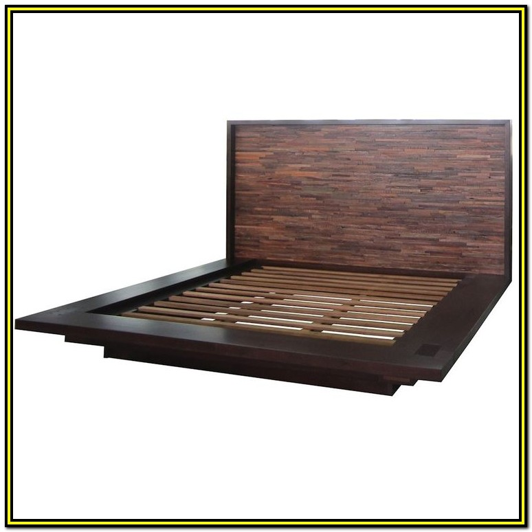 Reclaimed Wood Bed Frame King