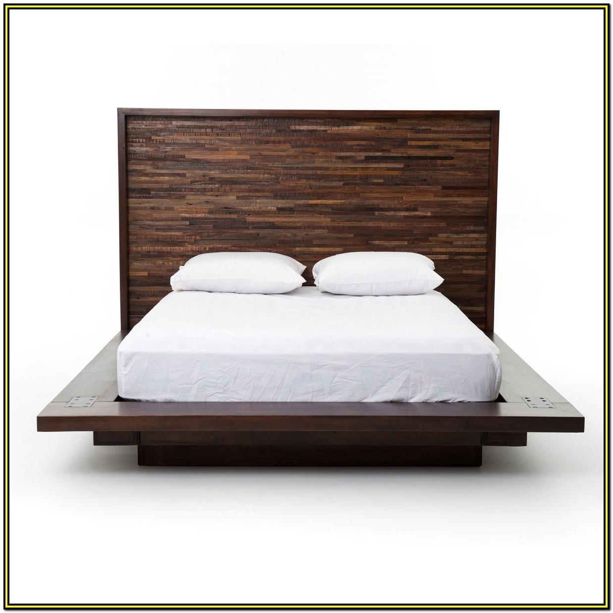Reclaimed Wood Bed Frame Queen