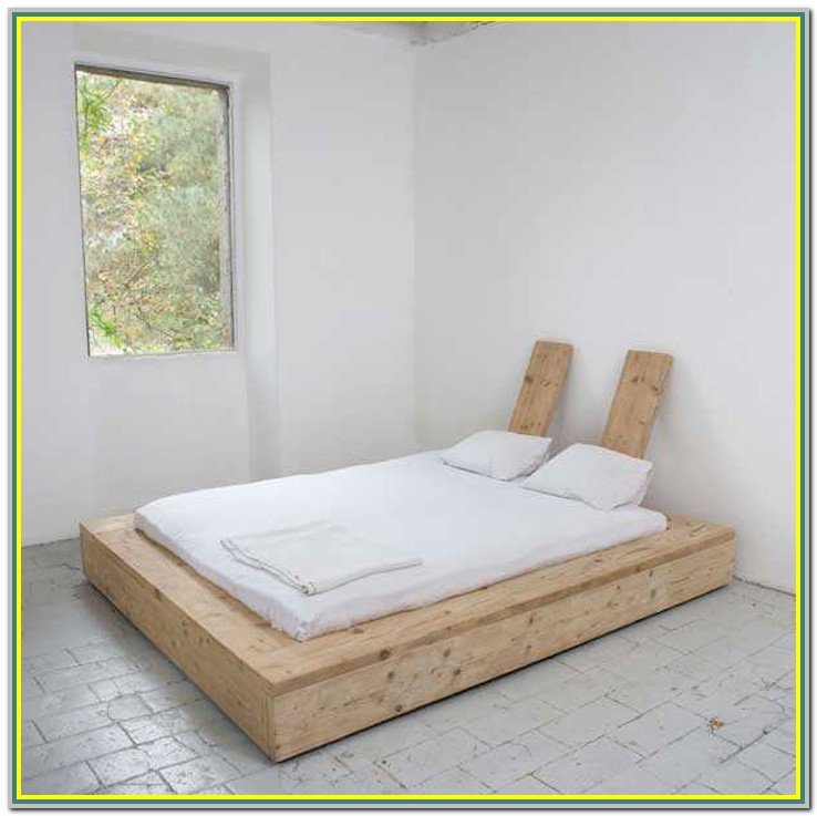 Reclaimed Wood Platform Bed Diy