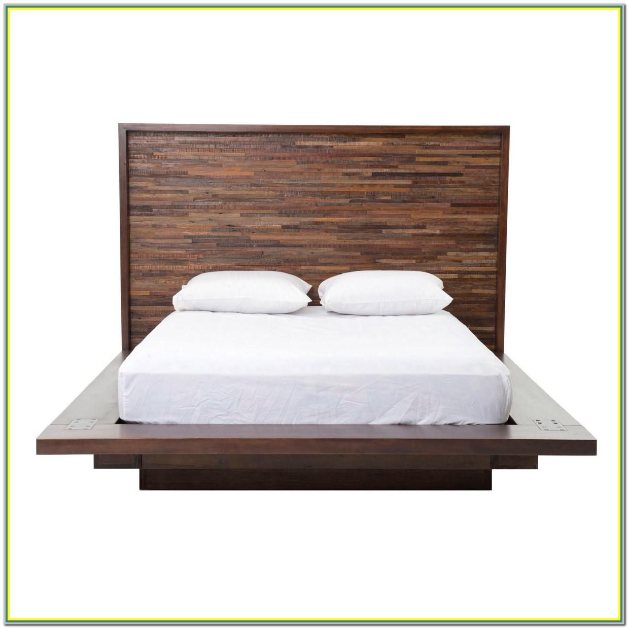 Reclaimed Wood Platform Bed Full