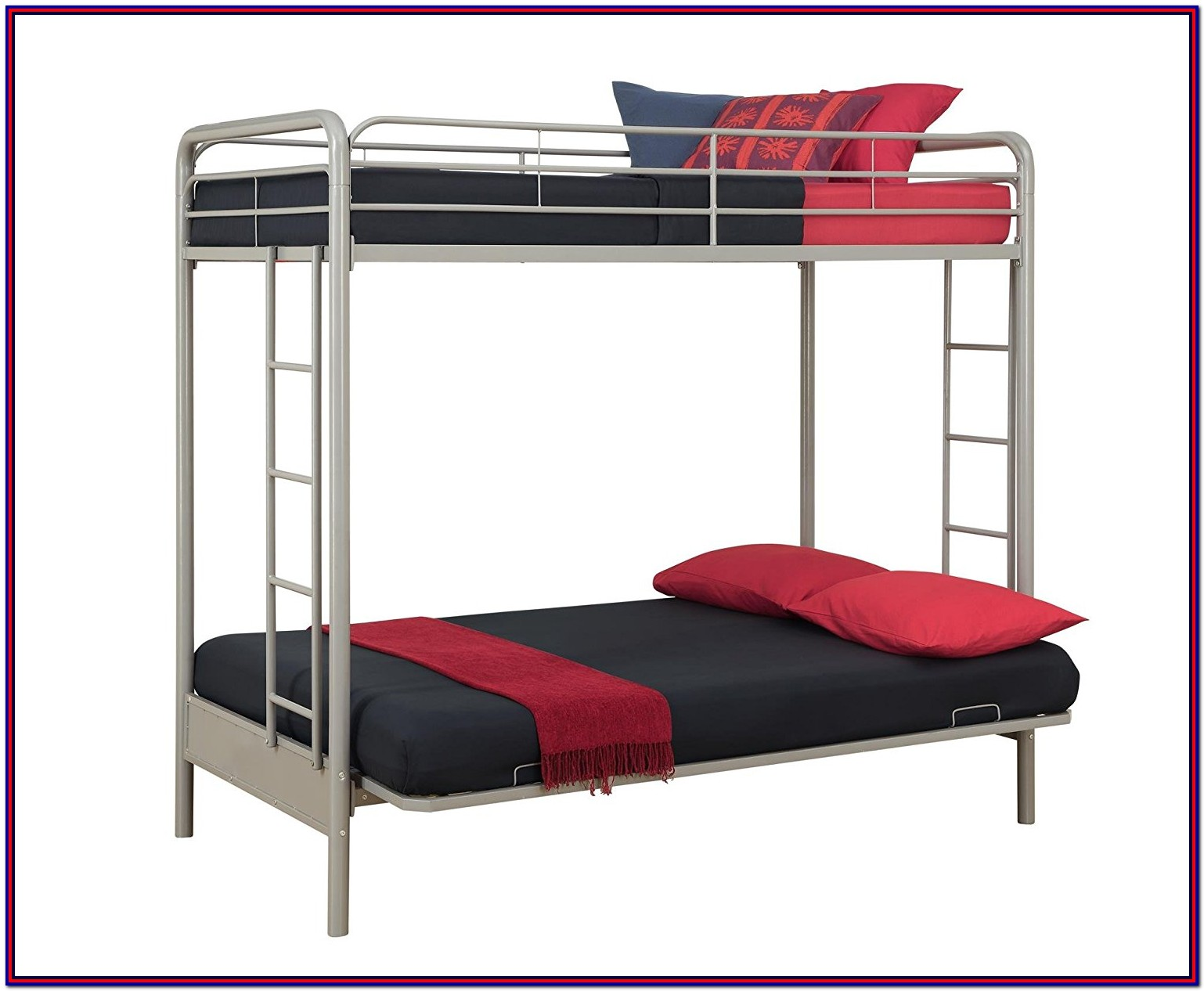 Red Metal Bunk Bed Twin Over Full Assembly Instructions