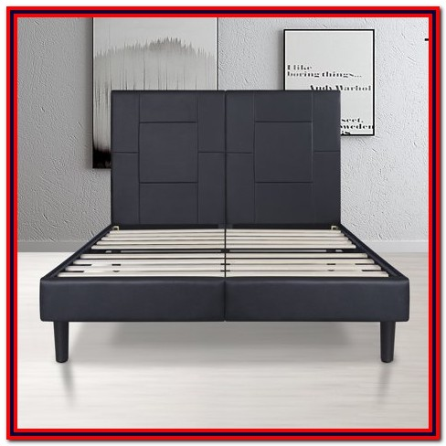 Rest Rite 14 In. Full Metal Platform Bed Frame