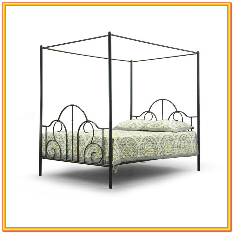 Size Canopy Bed Frame