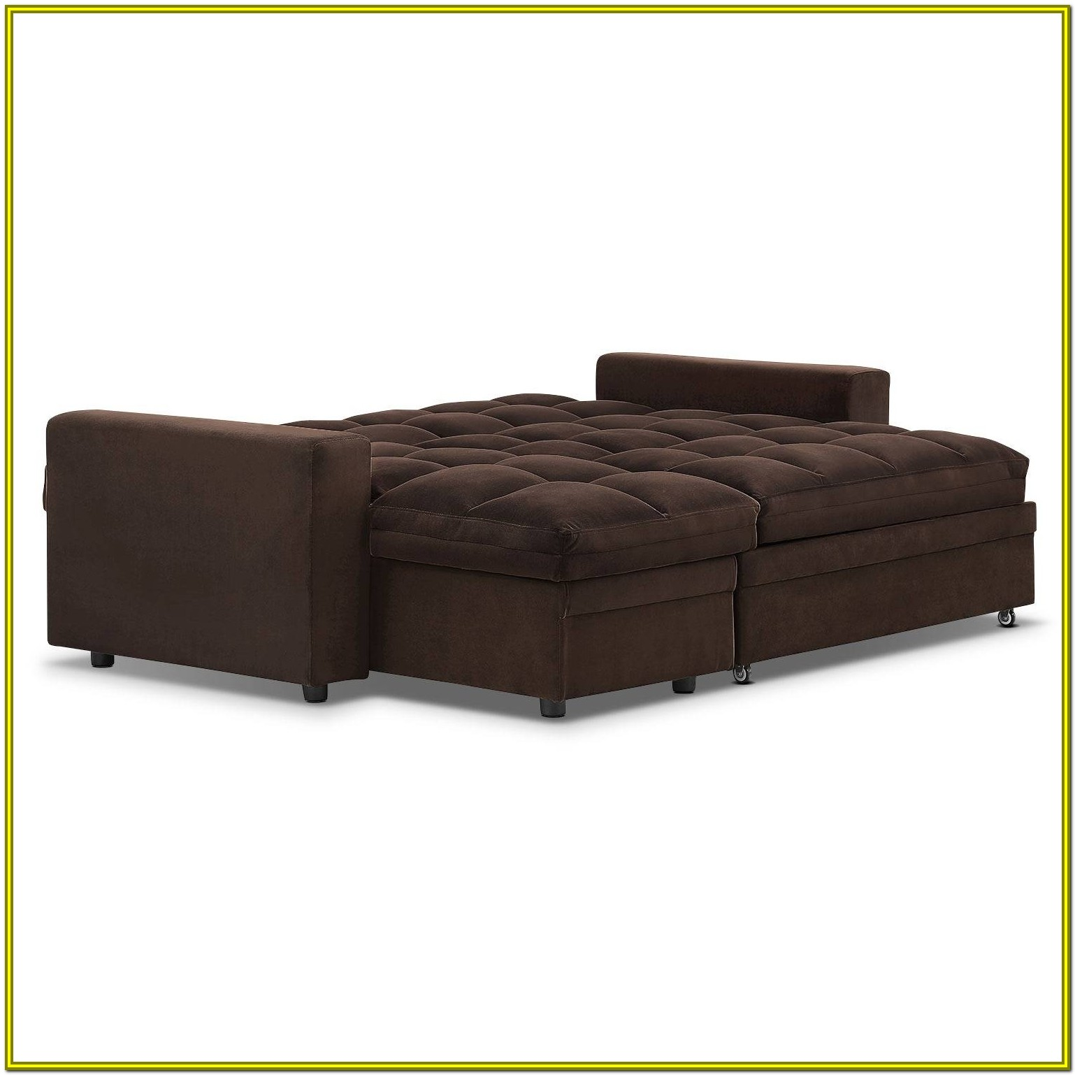 Sofa Bed With Chaise Storage
