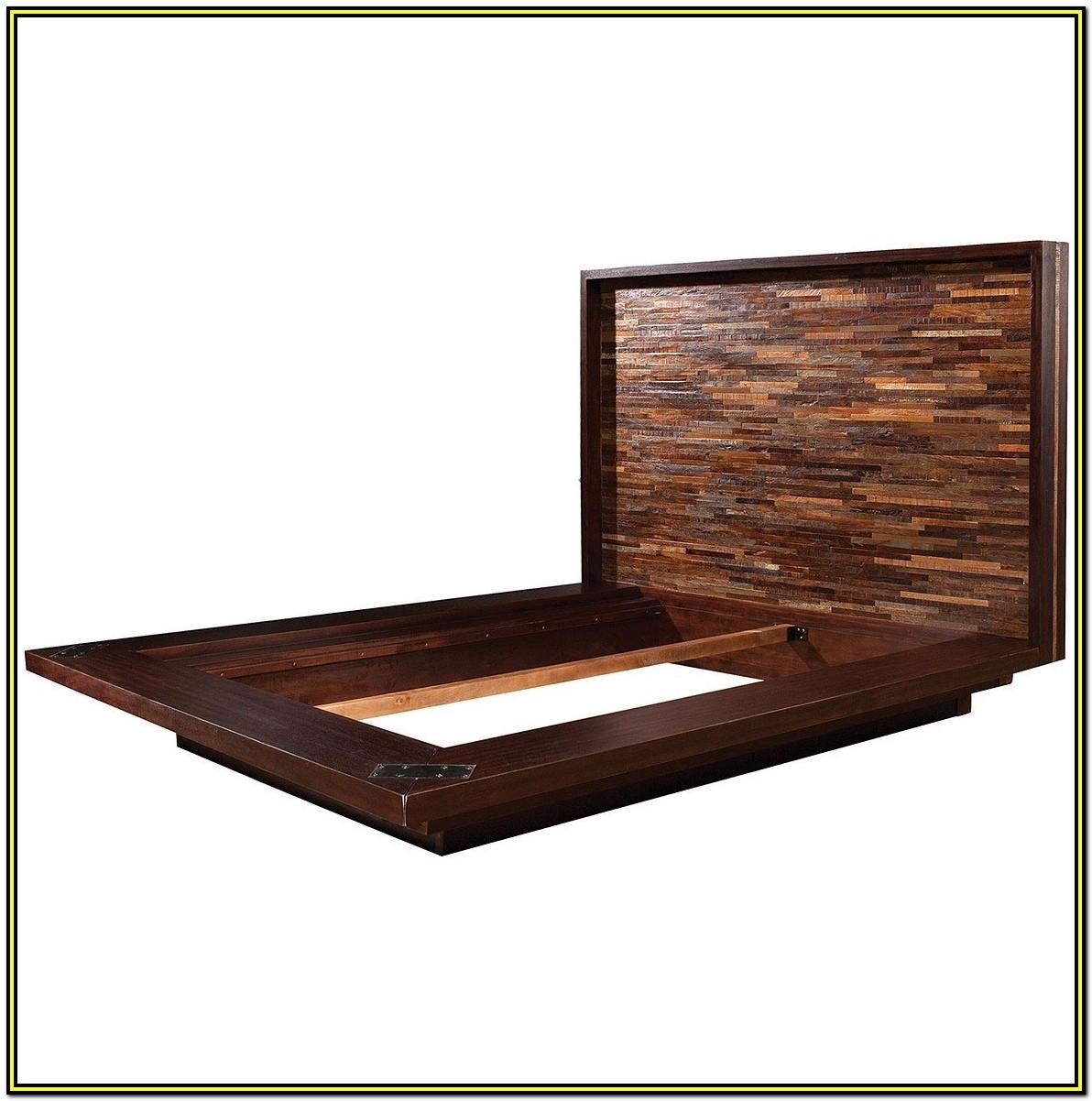Solid Wood Platform Bed Frame Queen