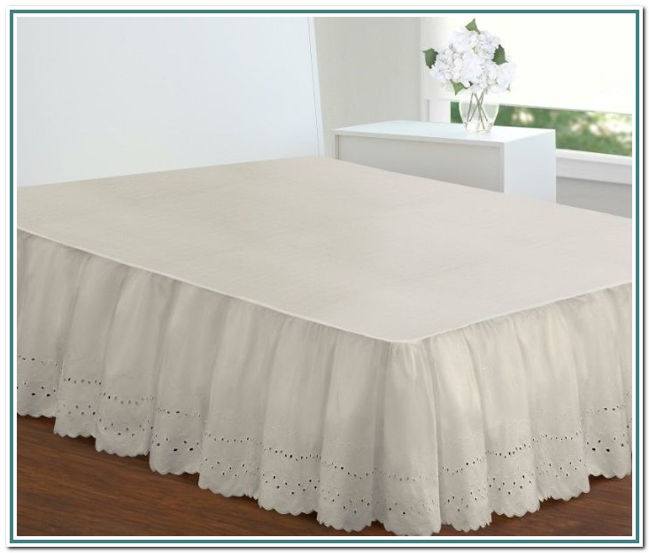 Split Corner Bed Skirt Full