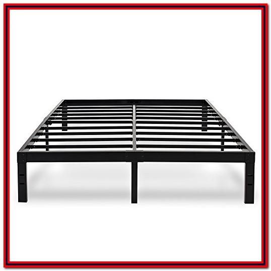 Steel Box Spring Replacement Metal Platform Bed Frame King