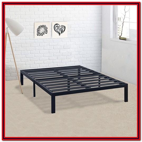 Stella Metal Platform Bed Frame King