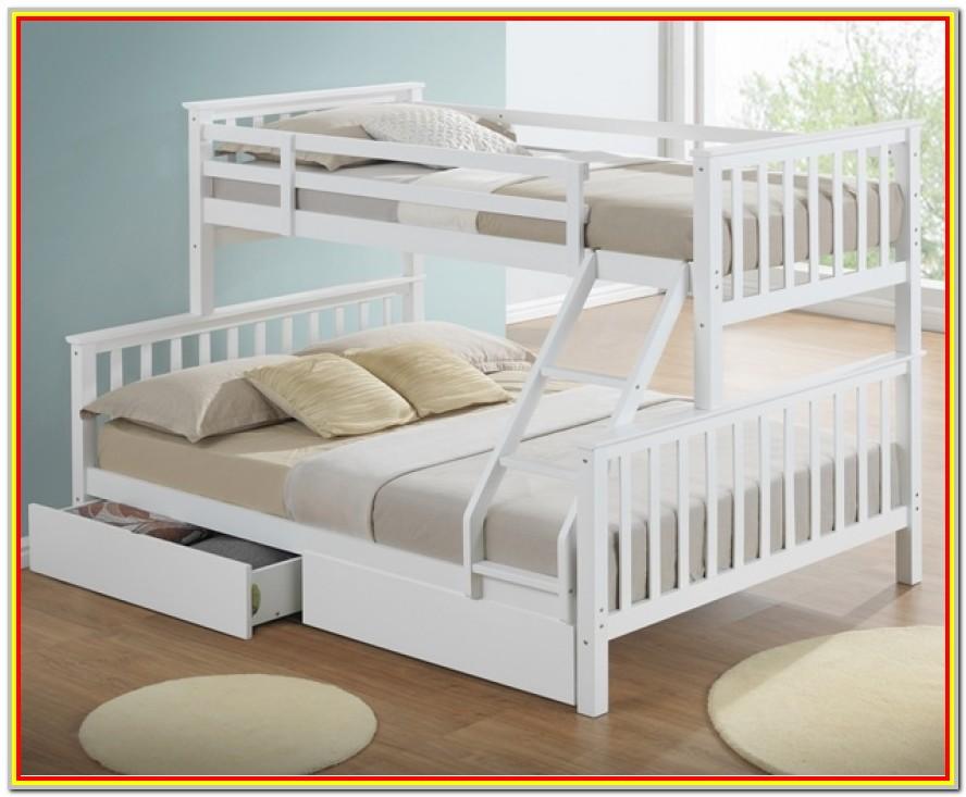 Triple Sleeper Bunk Bed With Storage Drawers
