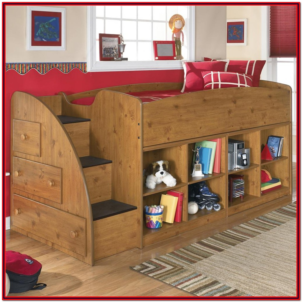 Twin Bed For Toddler With Storage