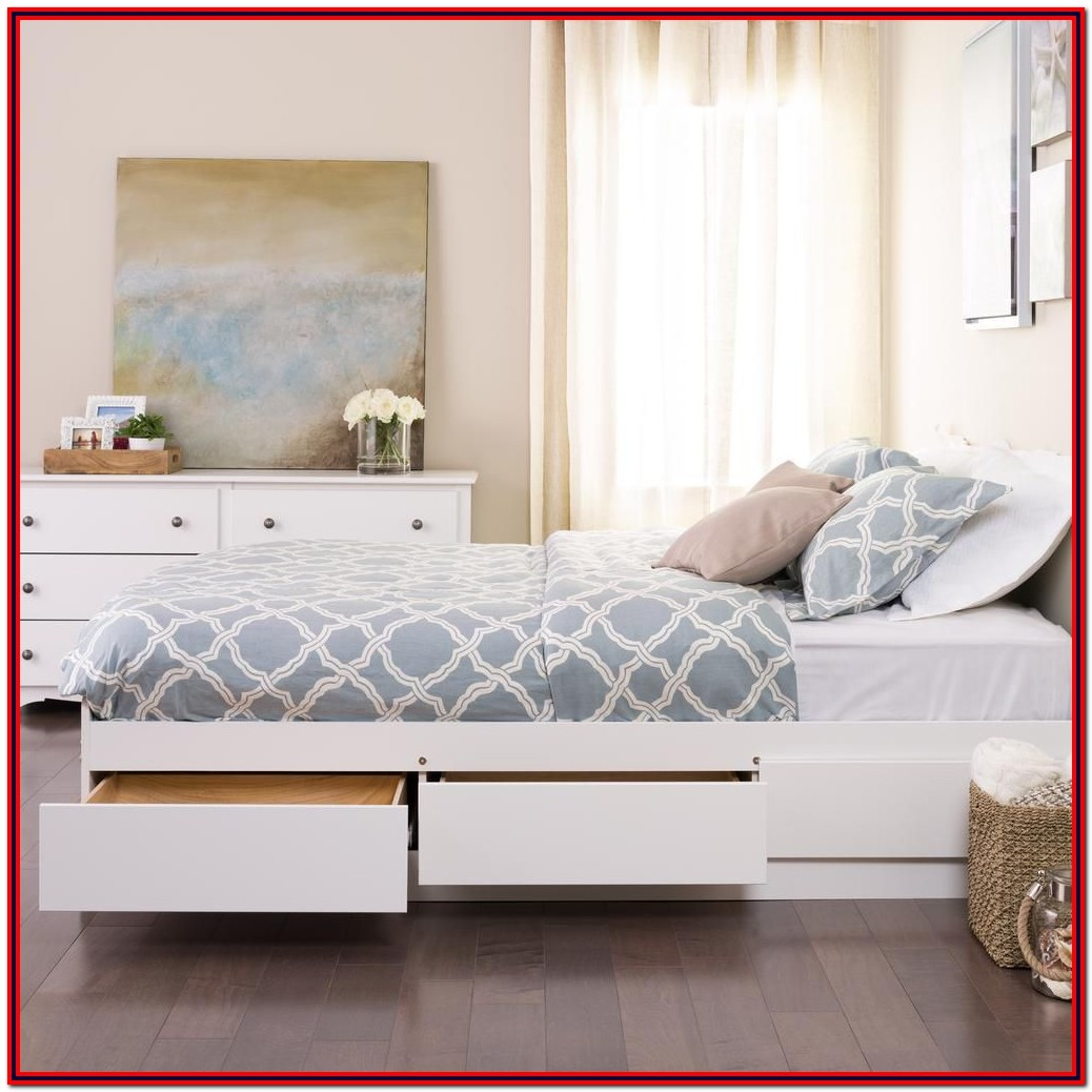 Twin Bed With Storage Drawers Canada