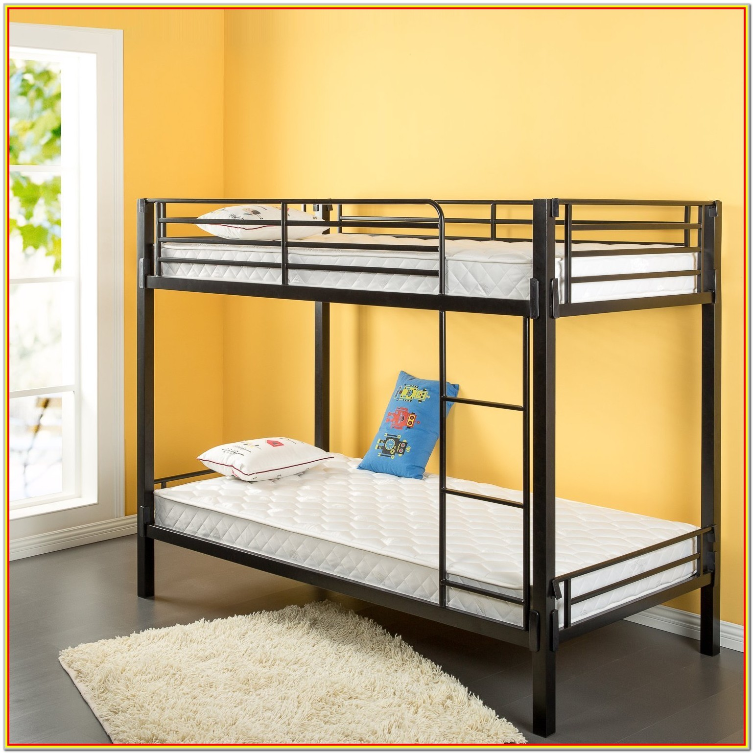 Twin Bunk Bed Mattress Set