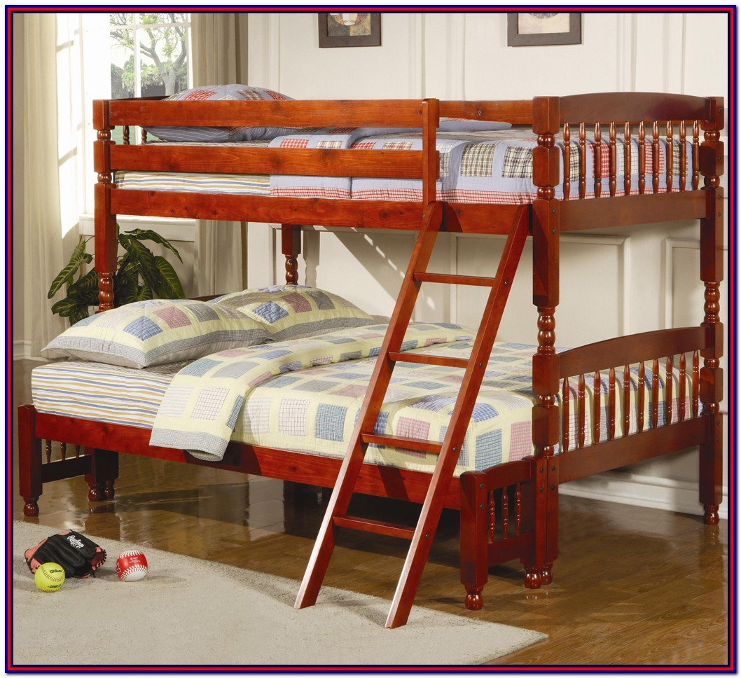 Twin Over Full L Shaped Bunk Bed Plans