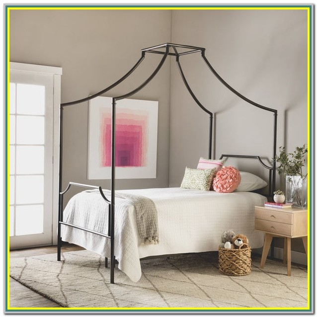 Twin Size Canopy Bedroom Sets