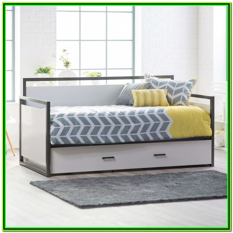 Twin Trundle Bed Frame Plans