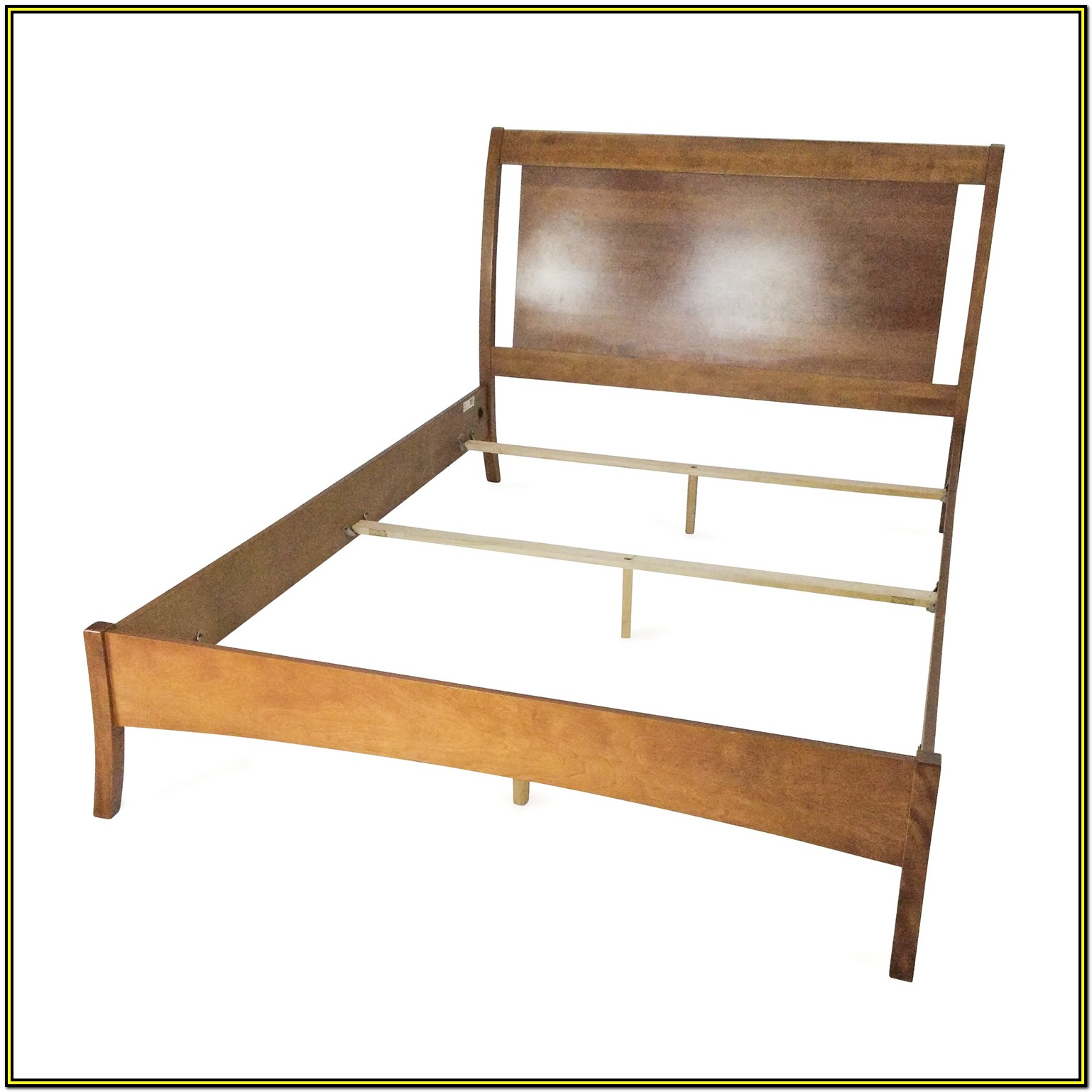 Used Solid Wood Queen Bed Frame