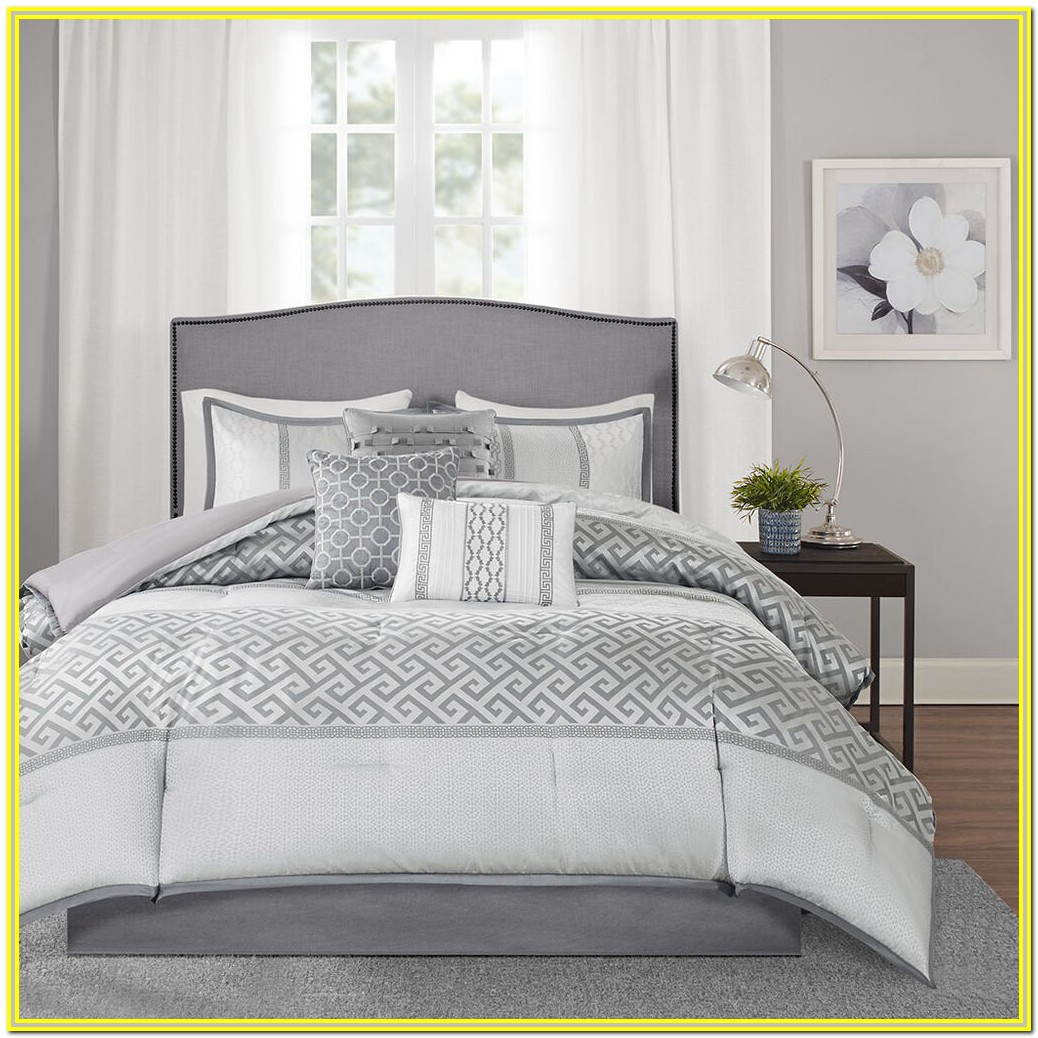 White And Gray Bedding Sets