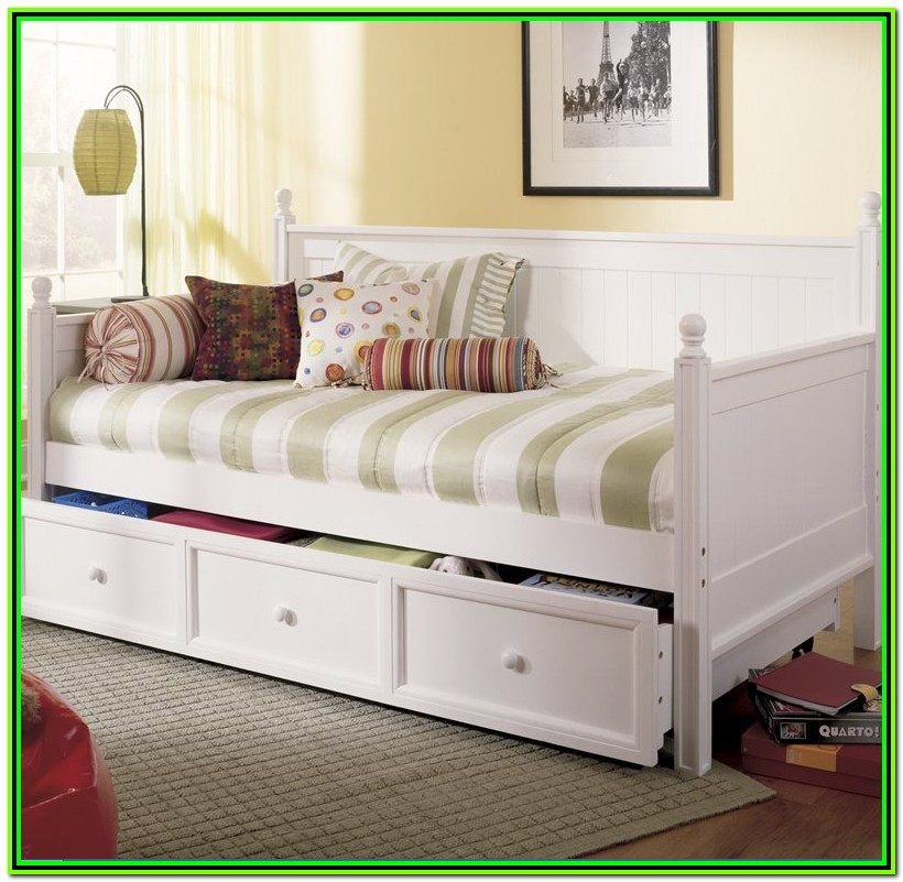 White Full Size Daybed Ikea