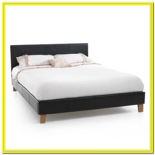 White Metal Super King Size Bed Frame