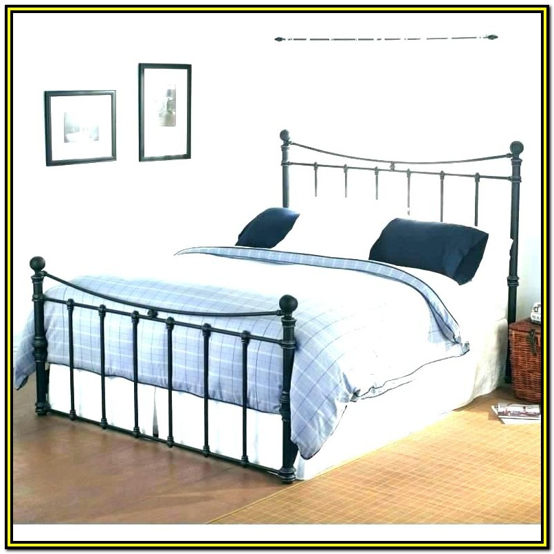 Wrought Iron Bed Frame Pottery Barn
