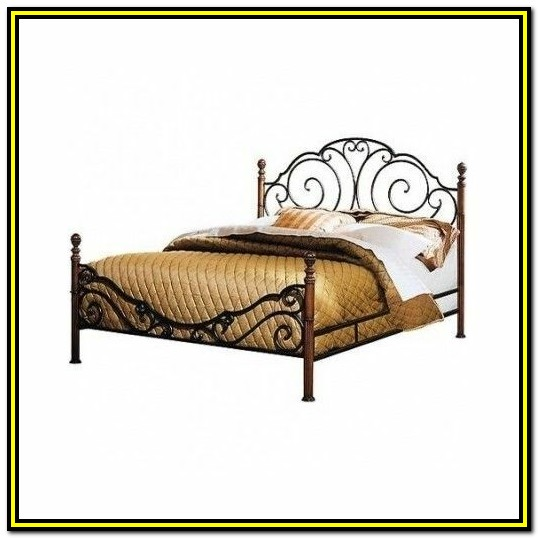 Wrought Iron Bed Frames Queen Size Australia