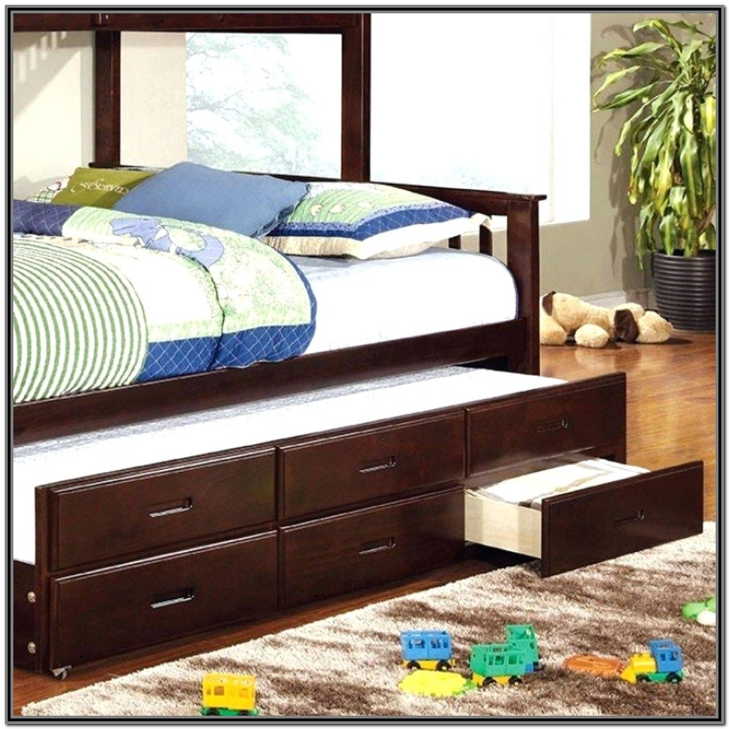 Xl Twin Bed Frame With Trundle