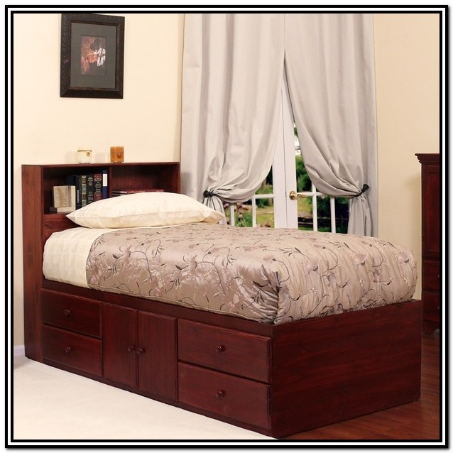 Xl Twin Bed With Storage