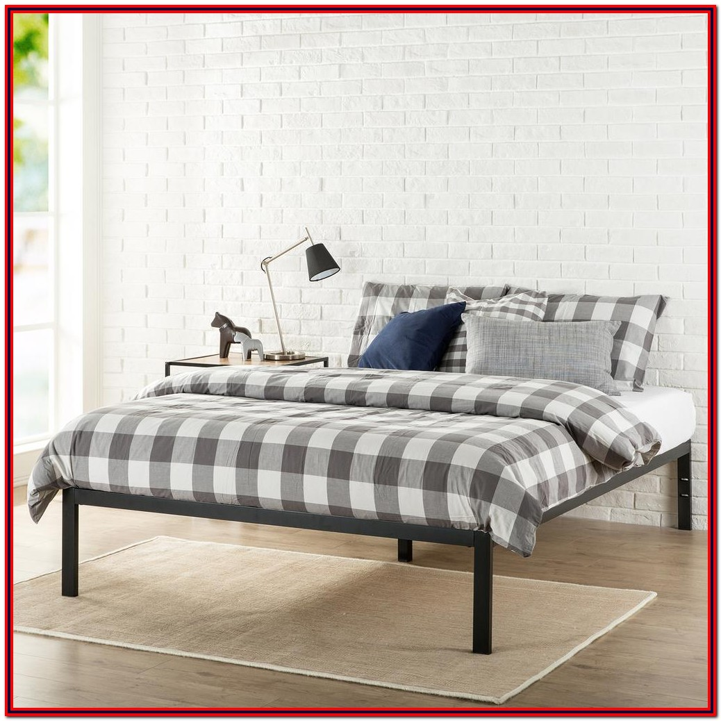 Zinus Metal Platform Bed Frame Queen