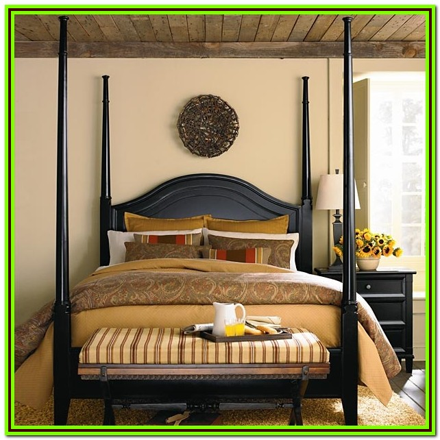 4 Poster King Bed Black