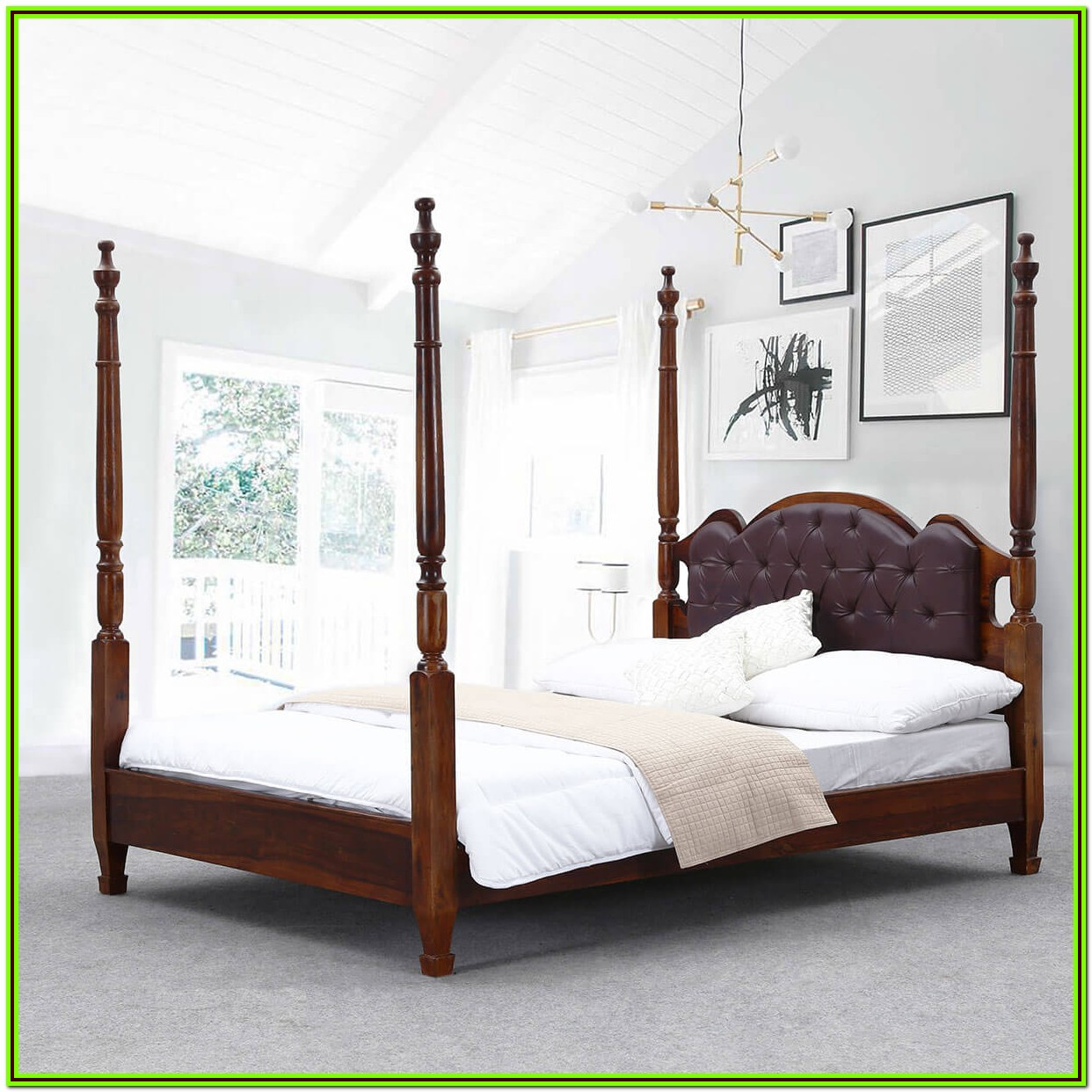 4 Poster King Bed Frame