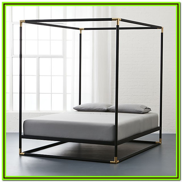 4 Poster King Bed Metal Frame